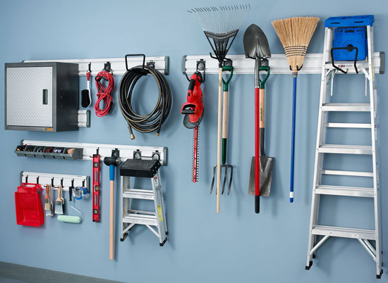 garage wall organizer deal gladiator mega wall storage kit 15759