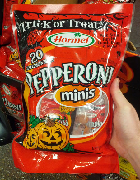 Hormel Halloween Pepperoni for Trick or Treat