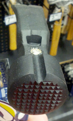 Kobalt Velocity Rip Hammer Face