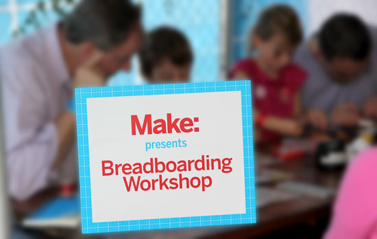Maker Faire NYC 2012 Breadboard Workshop