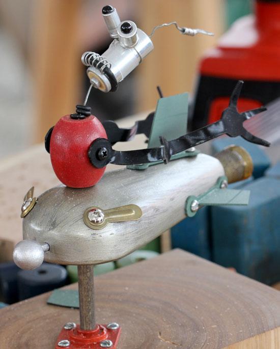 Maker Faire NYC 2012 Robot Rocket Ship