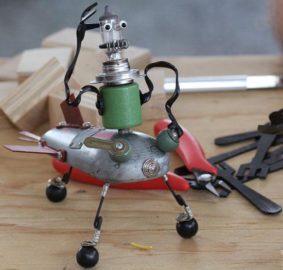 Maker Faire NYC 2012 Robot Walker
