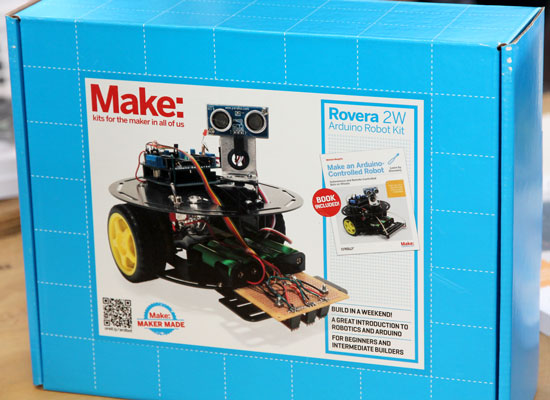 Maker Faire NYC 2012 Rovera Robot Kit