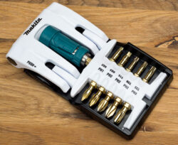 Makita Impact Gold Flat Screwdriver Bit Caddy
