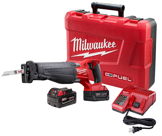 Milwaukee M18 Brushless Sawzall Kit
