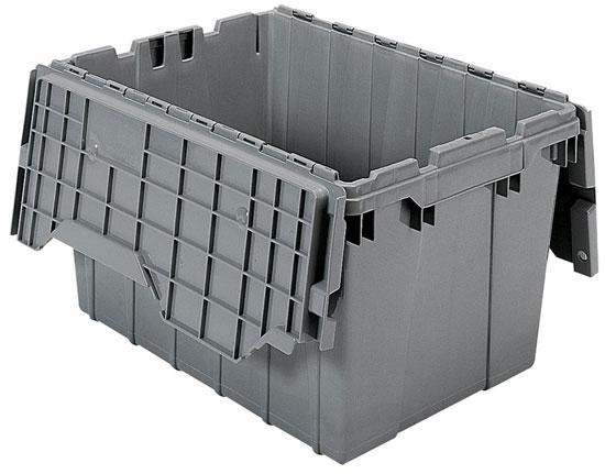 Akro Mils Hinged Lid Storage Tote Review