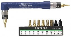 Hot Deal: Engineer L-Wrench Driver Plus Bits