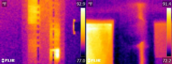 Flir E4 Thermal Image Resolution Quality