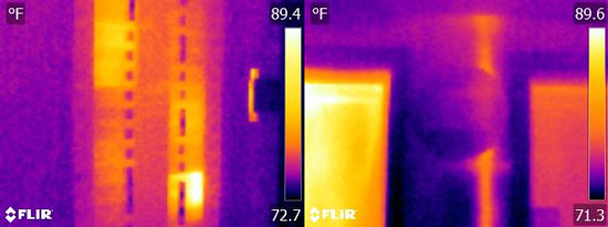 Flir E5 Thermal Image Resolution Quality