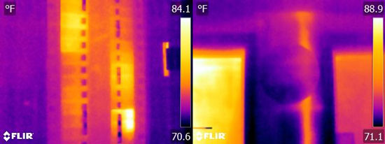 Flir E6 Thermal Image Resolution Quality