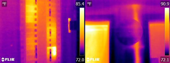 Flir E8 Thermal Image Resolution Quality