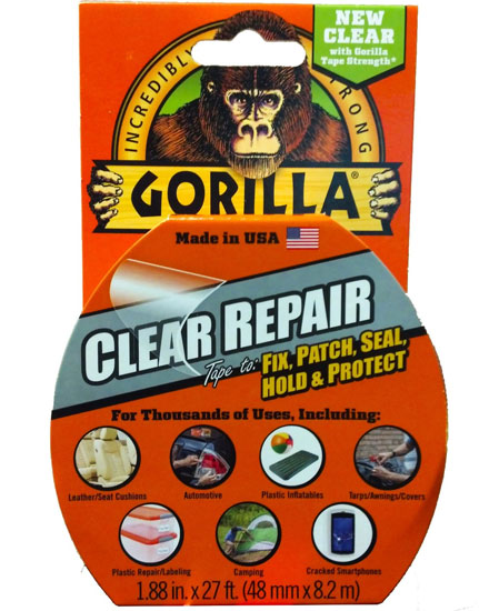New Clear Gorilla Tape