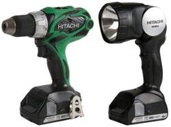 Hitachi DS18DSAL Cordless Drill Driver Kit