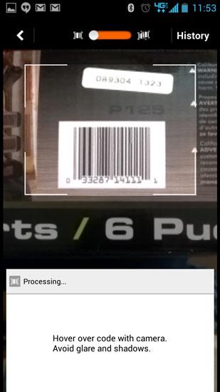 Home Depot Pro App Barcode Lookup Ryobi Charger