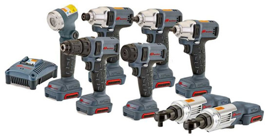 Coming Soon: New IR 12V Compact Cordless Tools (IQV12)