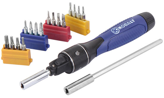 New Kobalt Double Drive Precision Screwdriver Set