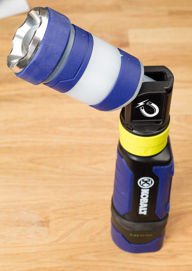 Kobalt Hypercoil LED Flashlight Mode