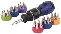 'New Kobalt Double Drive Stubby Screwdriver' from the web at 'http://toolguyd.com/blog/wp-content/uploads/2013/10/Kobalt-Stubby-Double-Drive-Screwdriver-250x140.jpg'