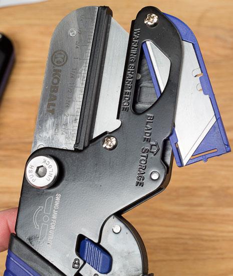 Kobalt Triple Cut Small Cutter Replacement Blade Compartment