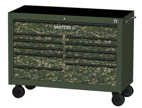 Finally, a Toolbox Fit for Your Jungle Workshop – New Matco Camo-Themed Tool Storage