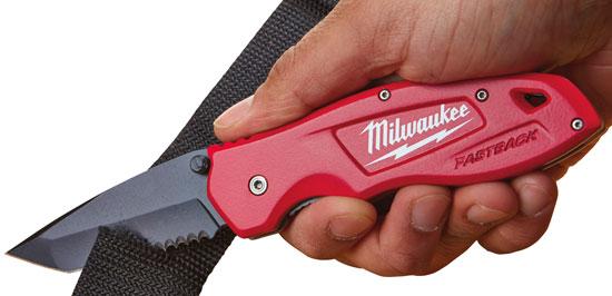 Milwaukee FastBack Serrated Pocket Knife