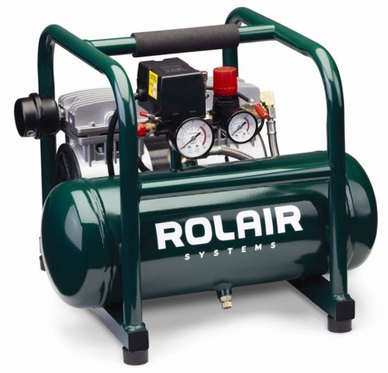 Review Rolair Jc10 Super Quiet Air Compressor