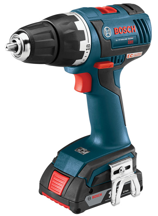 First look: Bosch's New EC Brushless Drills and Drivers