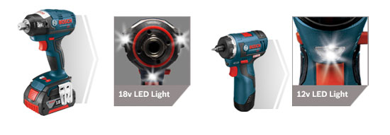 Bosch EC Tools LED Lights