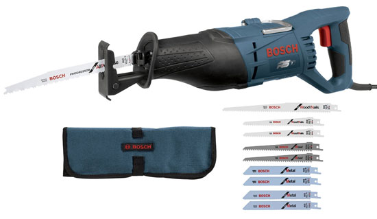 Bosch RS7 11A Reciprocating Saw with Free Blade Bundle