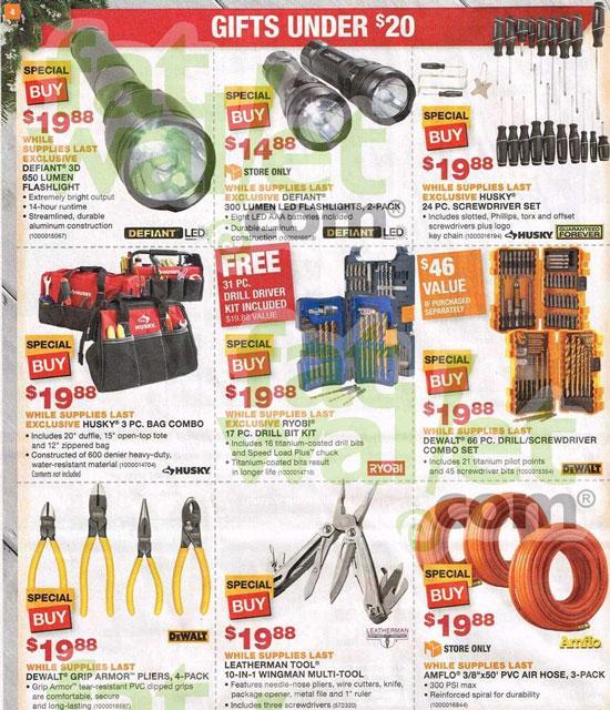 Home Depot Black Friday 2013
