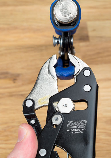 Kobalt Magnum Grip Locking Pliers Gripping Fail
