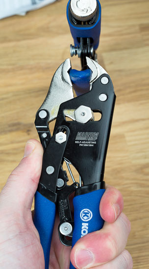 Kobalt Magnum Grip Locking Pliers Wide Setting Gripping Fail