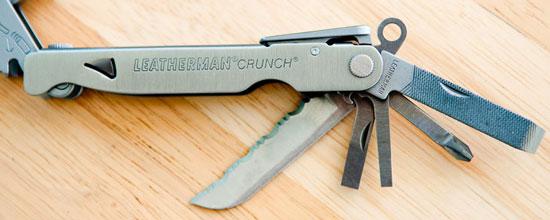Leatherman Crunch Multi-Tool Inner Tools