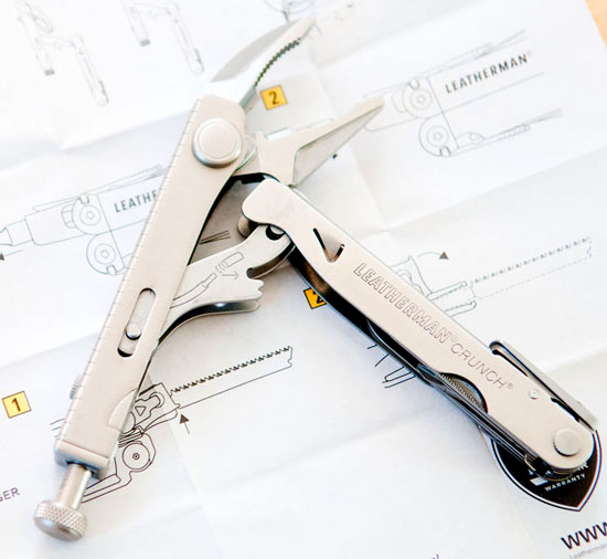Leatherman Crunch Multi-Tool Jaws Open