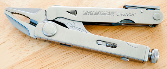 Leatherman Crunch Multi-Tool Multi-Tool at the Ready