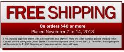 It's That Time of Year – Lee Valley Free Shipping Event