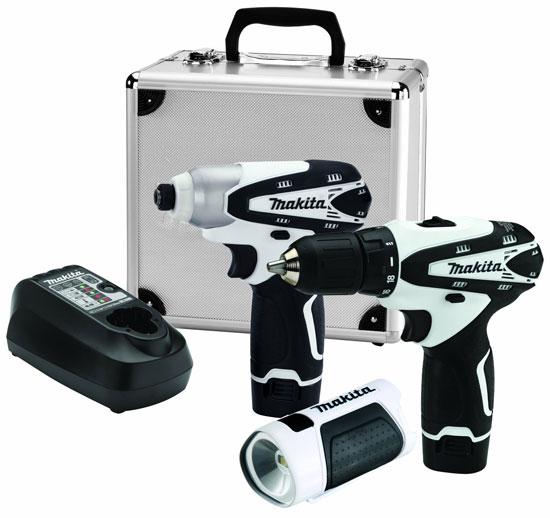 Makita 12V Drill Impact Driver LED Combo Kit LCT314W