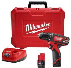 Milwaukee M12 2407 Drill Driver Kit