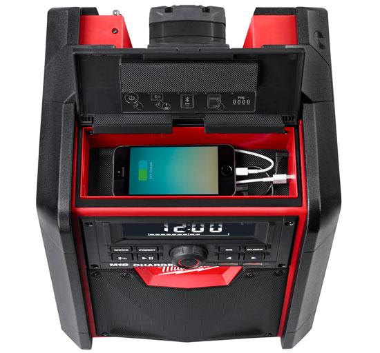 Milwaukee M18 Jobsite Radio Charger With Bluetooth