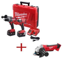 Milwaukee M18 Fuel Bonus Tool Combo Kit