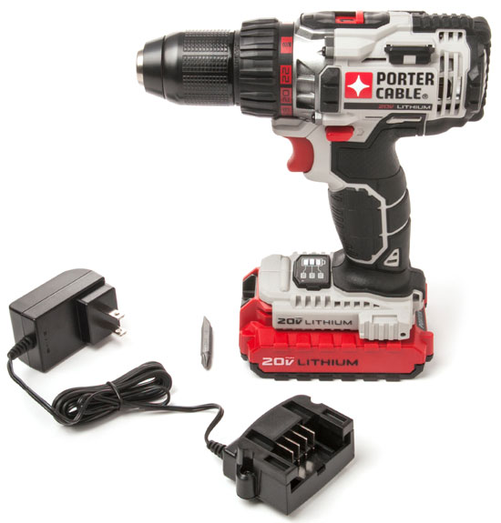 Porter Cable 20V Drill Driver Kit PCC606LA