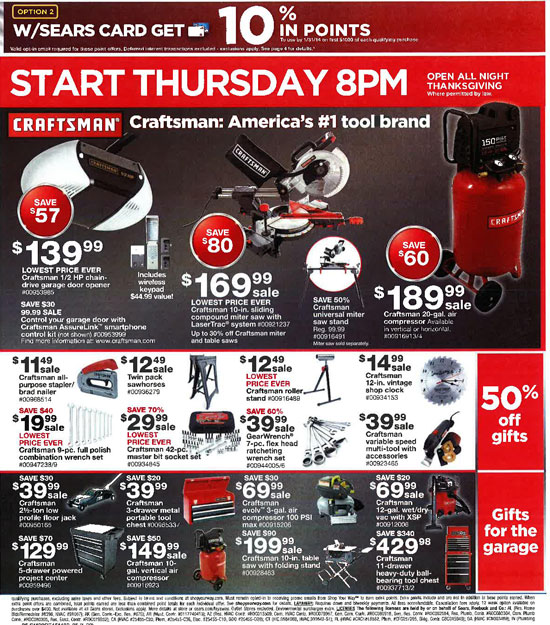 Sears Black Friday 2013 Tools Page 35