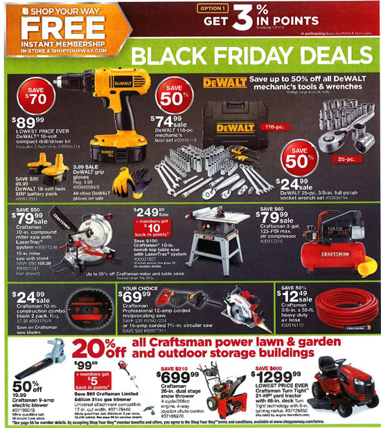 Sears Black Friday 2013 Tools Page 50