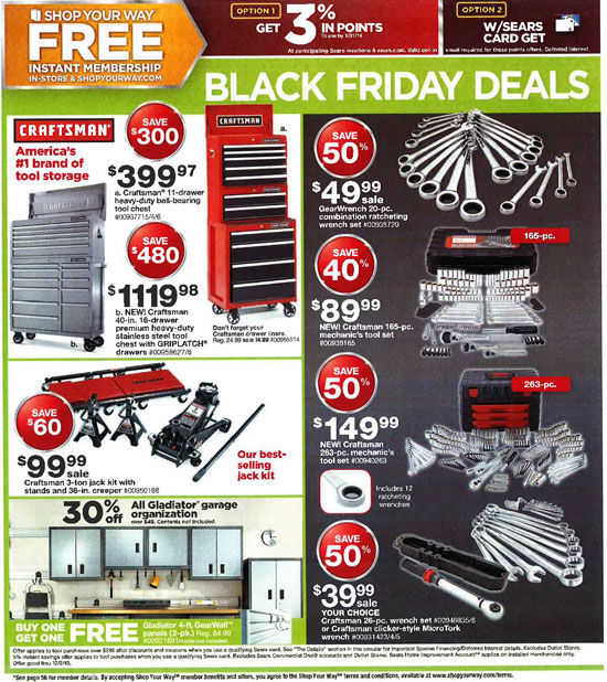Sears Black Friday 2013 Tools Page 52