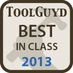 Best in Class 2013 Tool Award