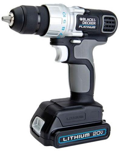 Black and Decker Platinum 20V Drill Driver