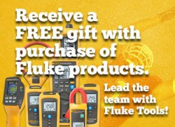 Spend $200+ on Fluke Tools, Get a Free Gift