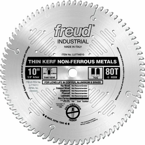 Which 10 miter saw blade works best for cutting aluminum greentooth Image collections