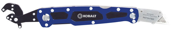 Kobalt Clench Wrench and Utility Knife Multi-Tool