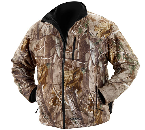 Ridgid Heated Jacket Camo